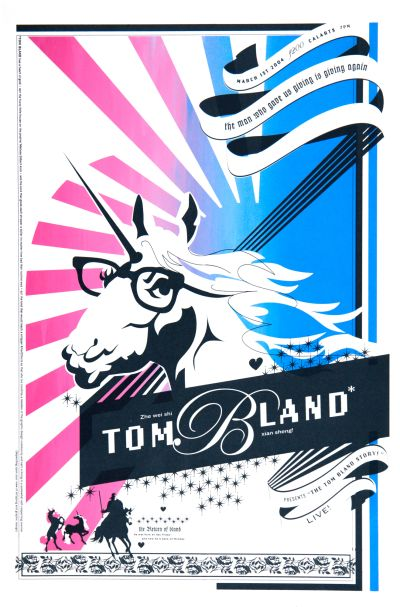 CalArts poster: Tom Bland by Peter Kaplan