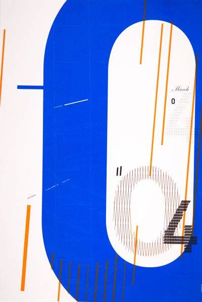CalArts poster: David Cabianca by Emily Morishita Victoria Lam