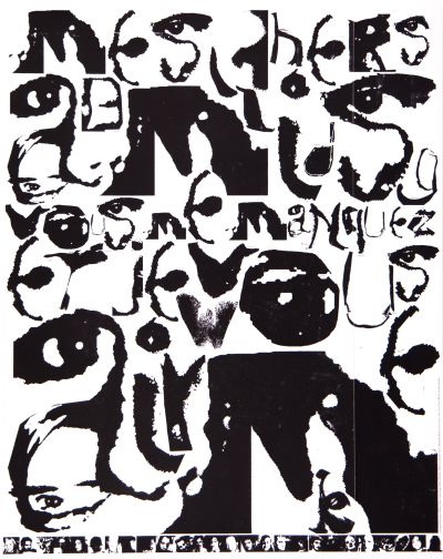CalArts poster: Untitled by Julie Mattei