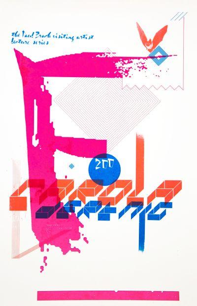 CalArts poster: Carola Dertnig by