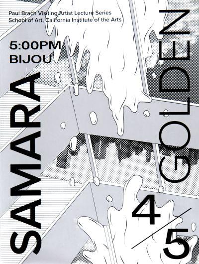 CalArts poster: Samara Golden by Guanyan Wu