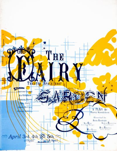 CalArts poster: The Fairy Garden by Shoshannah Day Strauss