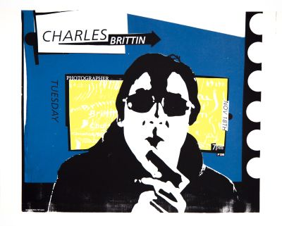 CalArts poster: Charles Brittin by Christopher Selby