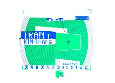 CalArts poster: Tran T. Kim-Trang by Cynthia Jacquette