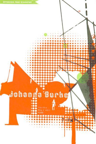 CalArts poster: Johanna Burke by