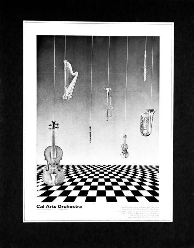 CalArts poster: 1979 CalArts Orchestra by