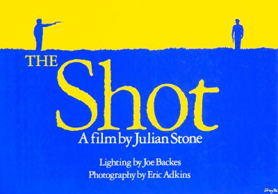 CalArts poster: The Shot by