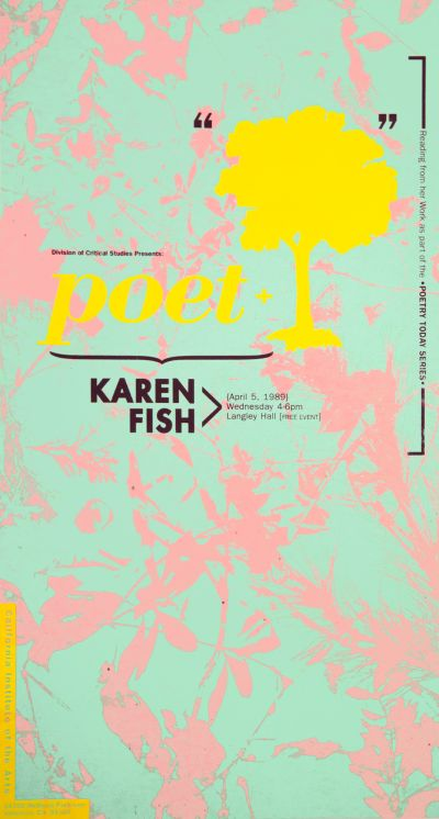 CalArts poster: Karen Fish by