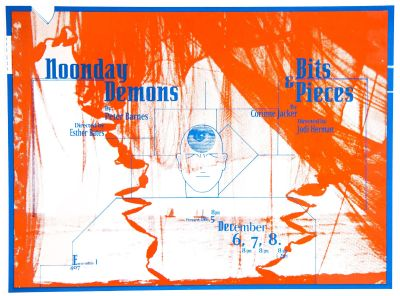 CalArts poster: Noonday Demons, and Bits & Pieces by