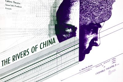 CalArts poster: The River of China by