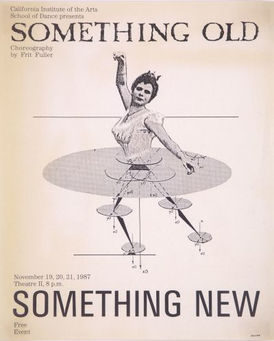 CalArts poster: Something Old, Something New by Carey Kimura