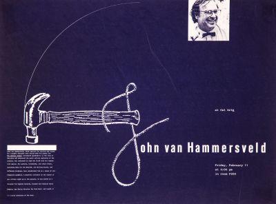 CalArts poster: John van Hammersveld by