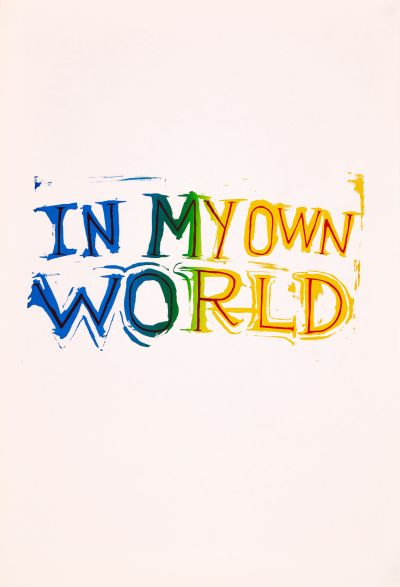 CalArts poster: In My Own World by Tuan Phan