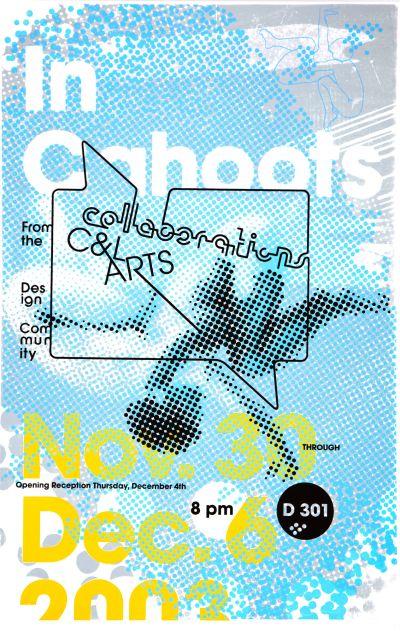 CalArts poster: CalArts Collaboration: In Cahoots by Emily Morishita Olivia Morad