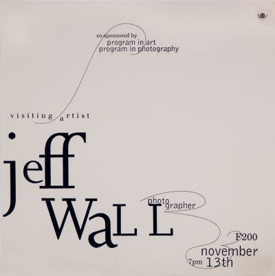 CalArts poster: Jeff Wall by