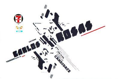 CalArts poster: Carlos Rosas by Geoff McFettridge Kevin Lyons