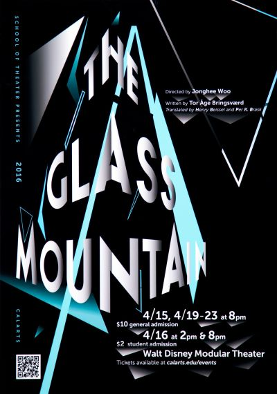 CalArts poster: The Glass Mountain by Dasol Jung