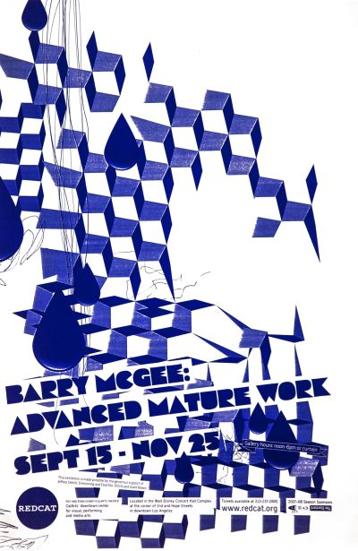 CalArts poster: REDCAT: Barry McGee by
