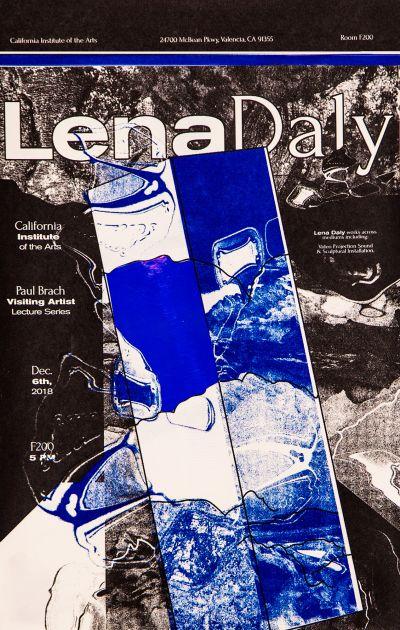 CalArts poster: Lena Daly by Tracy Tran Vivian Naranjo
