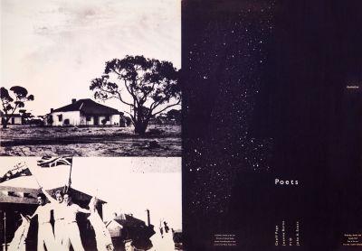 CalArts poster: Australian Poets by Sean Adams