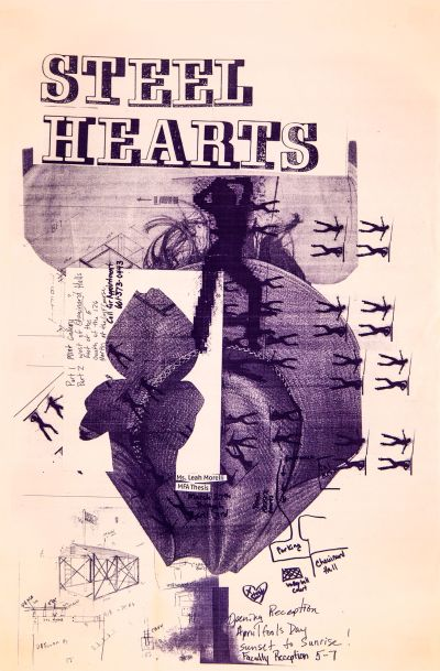 CalArts poster: Steel Hearts by