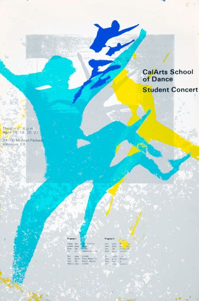 CalArts poster: CalArts School of Dance Student Concert (2/2) by