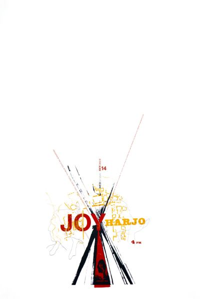 CalArts poster: Joy Harjo by