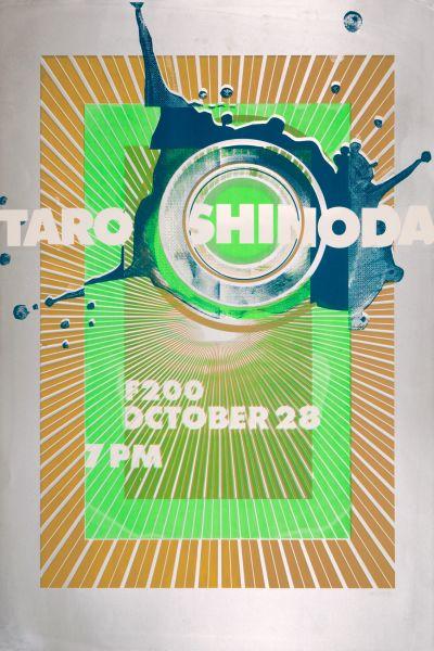 CalArts poster: REDCAT: Taro Shinoda – Buried Treasure 2 by Eli Carrico Yasmin Khan