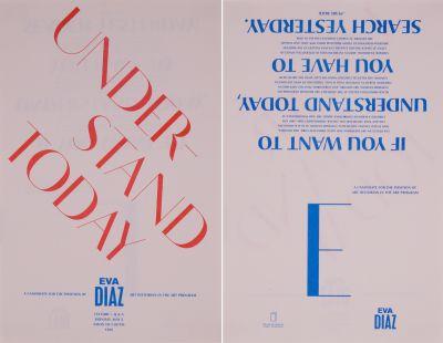 CalArts poster: Eva Diaz by Tim Belonax
