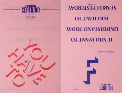CalArts poster: Fabian Cereijido by Tim Belonax