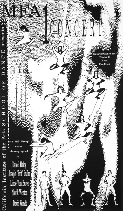 CalArts poster: 1987 MFA1 Concert by