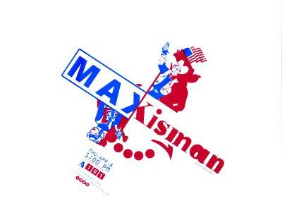 CalArts poster: Max Kisman by Sharon Cardinal