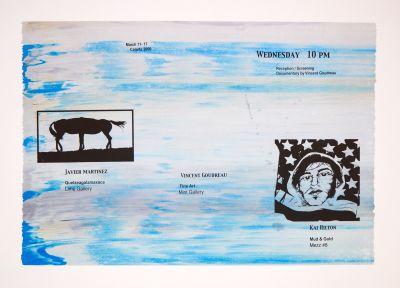 CalArts poster: Martinez, Hilton, Godreau by