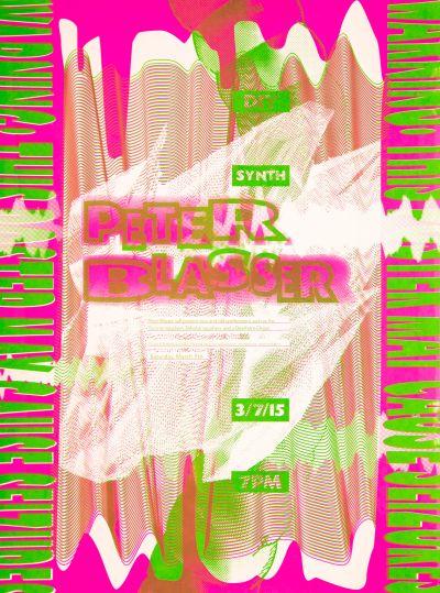 CalArts poster: Peter Blasser by Brian Thompsen