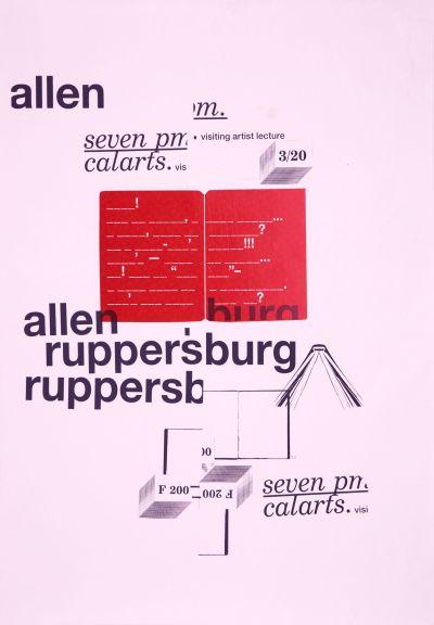 CalArts poster: Allen Ruppersburg by