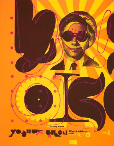 CalArts poster: Yoshua Okon by Florencio Zavala Gundula Prinz