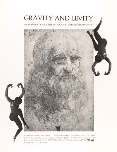 CalArts poster: Gravity and Levity by