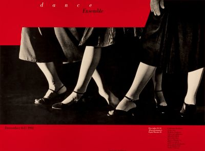 CalArts poster: Dance Ensemble by Koji Takei
