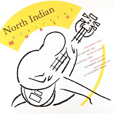 CalArts poster: North Indian Classical Music by