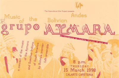 CalArts poster: Grupo Aymara by