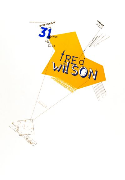 CalArts poster: Fred Wilson by Michael Worthington