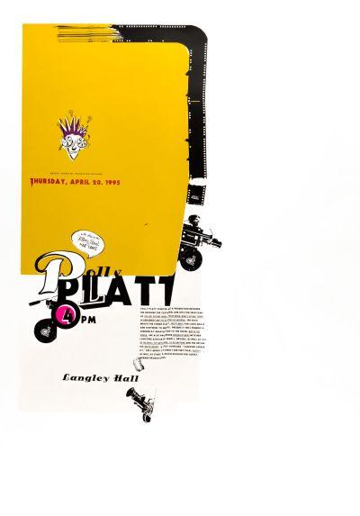 CalArts poster: Polly Platt by Joseph Monnens