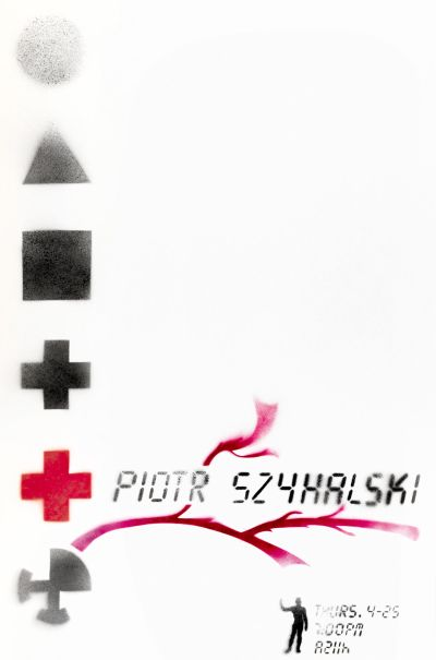 CalArts poster: Piotr Szyhalski by Bucky Fukumoto Jamandru Reynolds