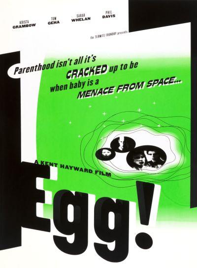 CalArts poster: Egg: A Kent Hayward Film by Glen Nakasako