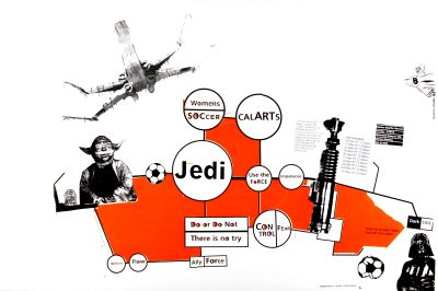 CalArts poster: Jedi by Christopher Selby