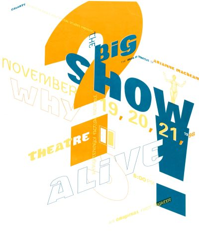 CalArts poster: The Big Show by