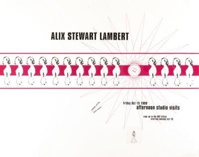 CalArts poster: Alex Stewart Lambert by