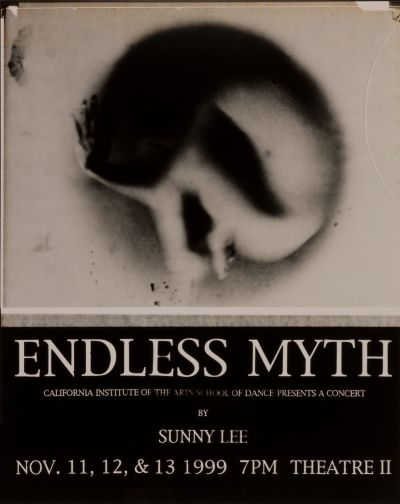 CalArts poster: Endless Myth by