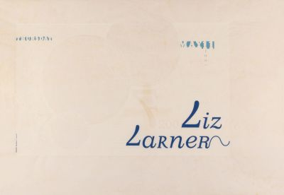 CalArts poster: Liz Larner by Cynthia Jacquette