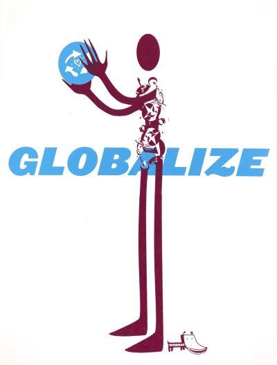 CalArts poster: Globalize by Daniela Marx Tuan Phan